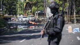 Ataques reivindicados por Daesh dejan 11 muertos en Indonesia