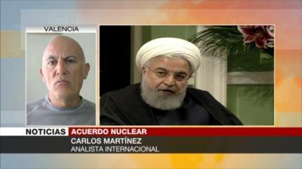 Carlos Martínez: UE intenta reforzar pacto nuclear sin EEUU