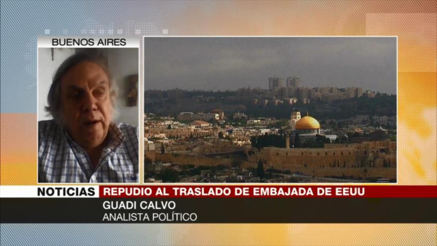 Guadi Calvo: Embajada de EEUU en Al-Quds solo aumenta tensiones