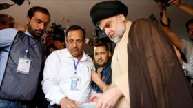 Resultados preliminares: Lista de Al-Sadr lidera comicios en Irak