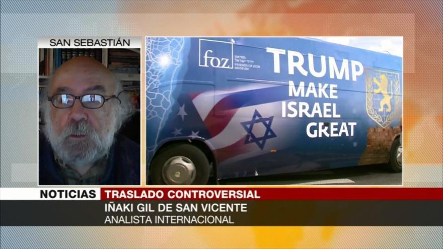Iñaki Gil de San Vicente: EEUU planea convertir a Israel en hegemonía