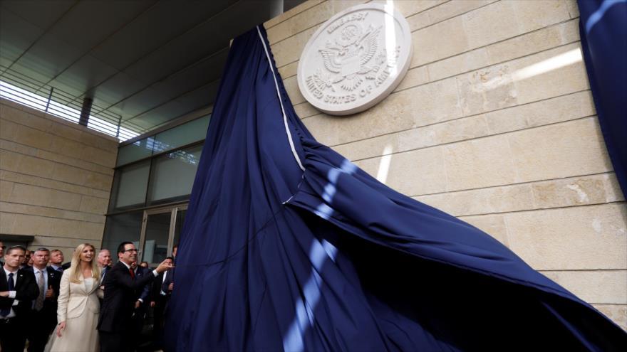 EEUU abre oficialmente su embajada en Al-Quds