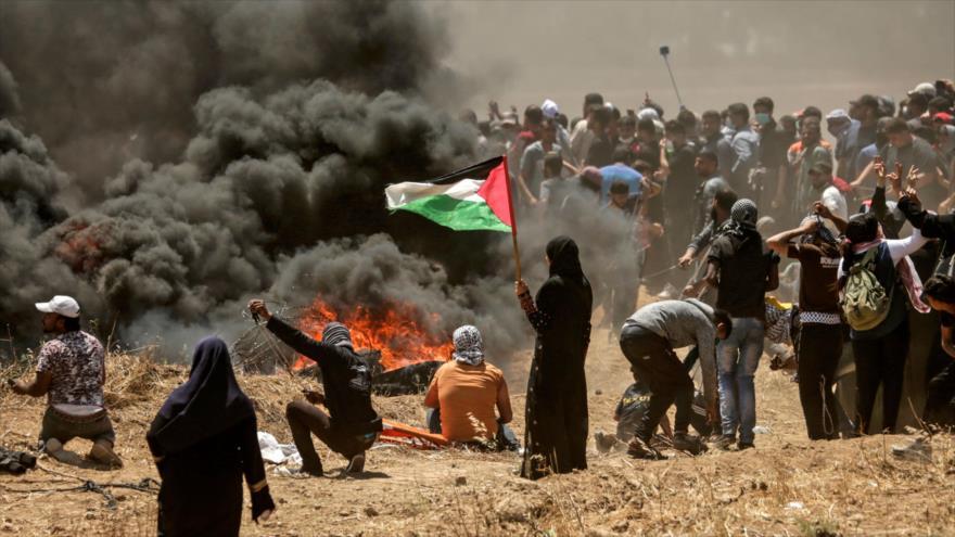 Palestina convoca una huelga general por masacre israelí en Gaza