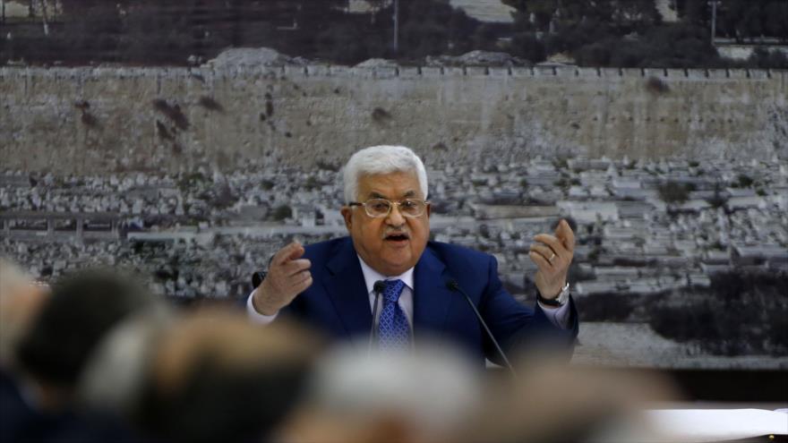 Presidente palestino: EEUU ya no es un mediador en Oriente Medio