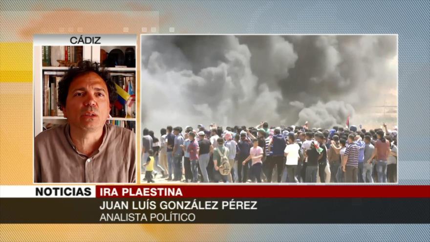 González Pérez: Masacre en Gaza muestra verdadera cara de Israel