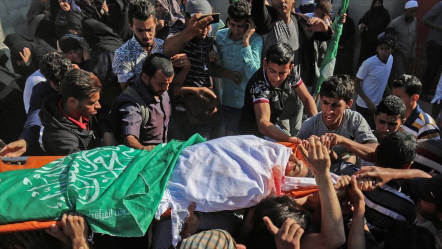 Siria condena brutal masacre de palestinos desarmados por Israel