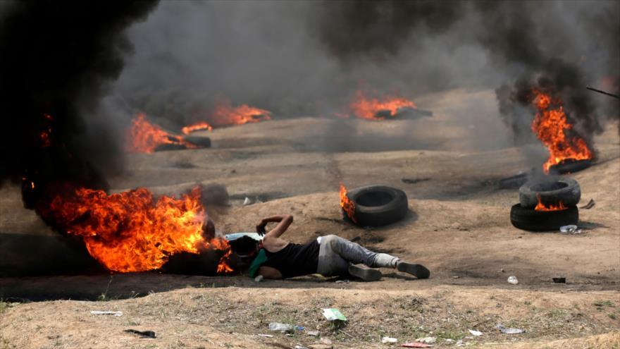 Sube a 58 la cifra de palestinos muertos por las fuerzas israelíes