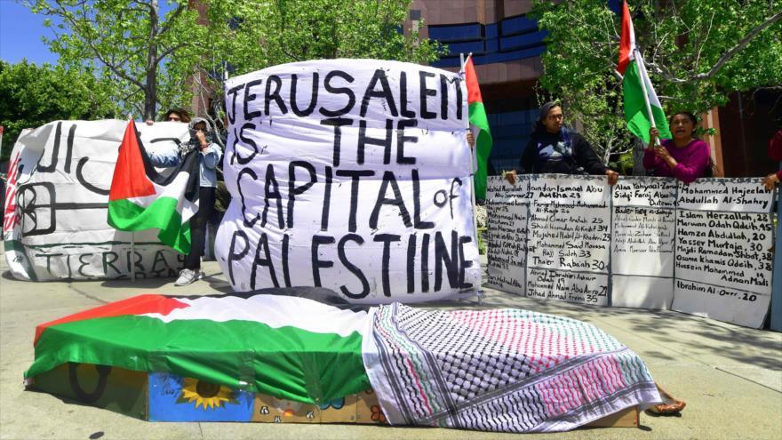 EEUU con su decisión sobre Al-Quds marca un oscuro día para la paz
