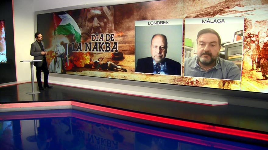 Isaac Bigio y Manuel Pineda analizan crímenes de Israel en Día de Nakba