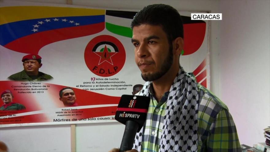 Muaz Jamal Mussa: Chavismo se solidariza con pueblo palestino