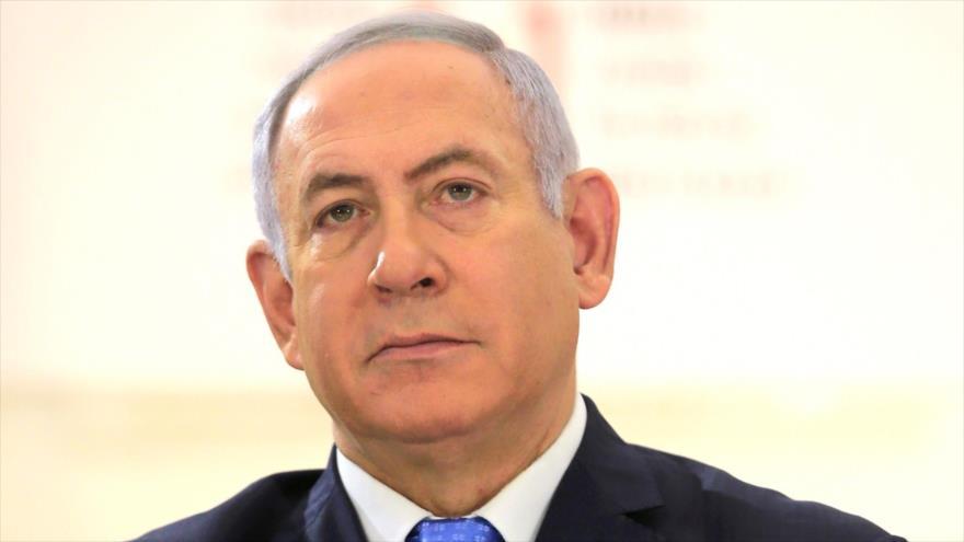 El primer ministro del régimen de Israel, Benjamín Netanyahu.