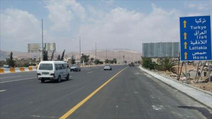 Autopista Damasco-Homs, abierta al tráfico civil tras 5 años