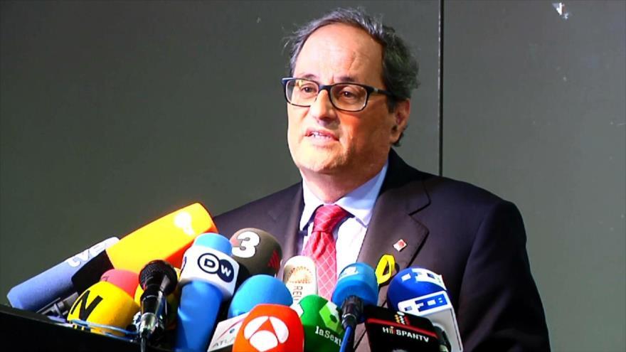 Quim Torra pide diálogo al Gobierno español desde Berlín