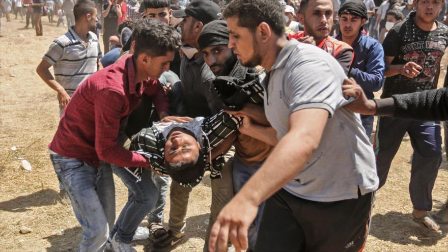Sube a 61 la cifra de palestinos muertos por soldados israelíes