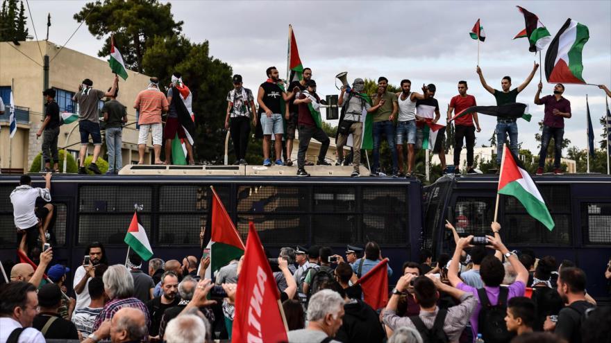 Se celebran protestas contra el régimen de Israel en muchos países