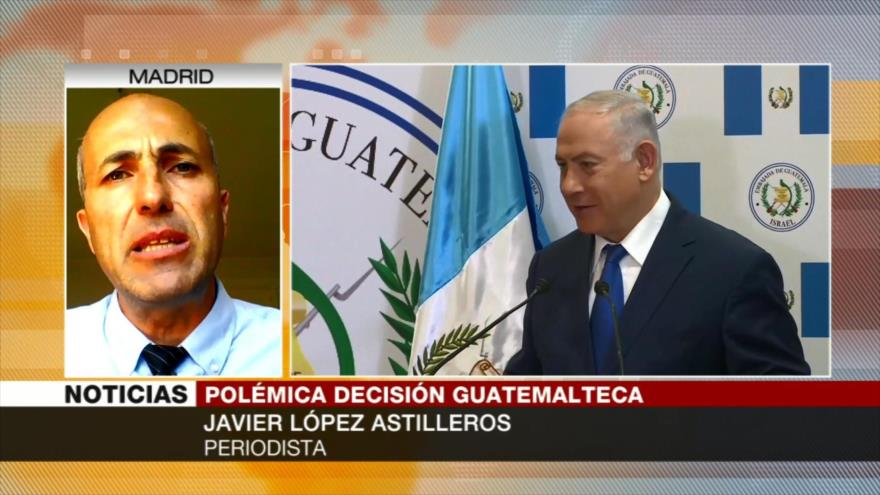 Javier Astilleros: Jimmy Morales busca encubrir su debilidad interna