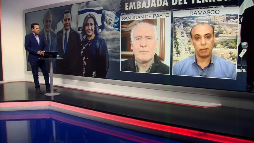 Santa María y Wannous analizan traslado de embajada de Guatemala