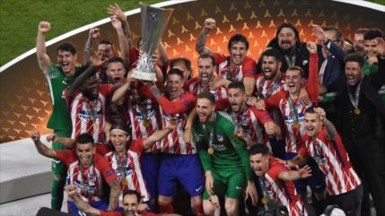 Atlético de Madrid campeón de Euro League tras vencer a Marsella