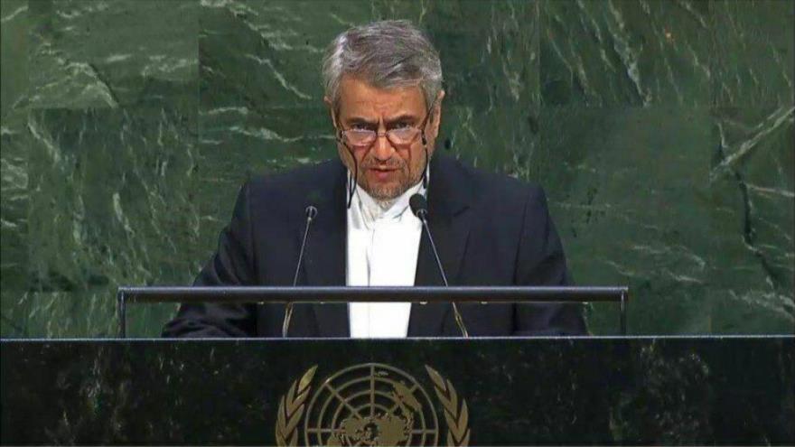 Irán pide a OCI presionar a Israel para que detenga sus crímenes