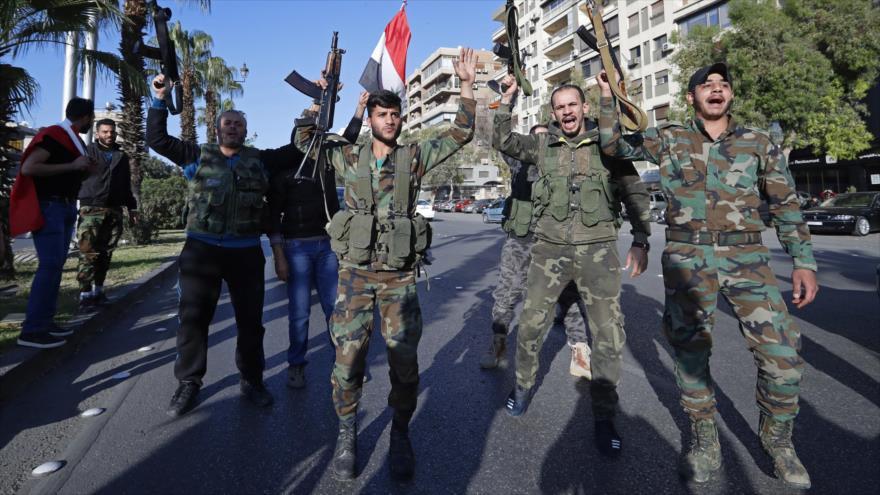 Vídeo: Sirios celebran liberación del norte de Homs tras 6 años