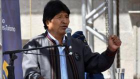 Morales: Almagro, 'empleado de Trump', calla ante masacre israelí