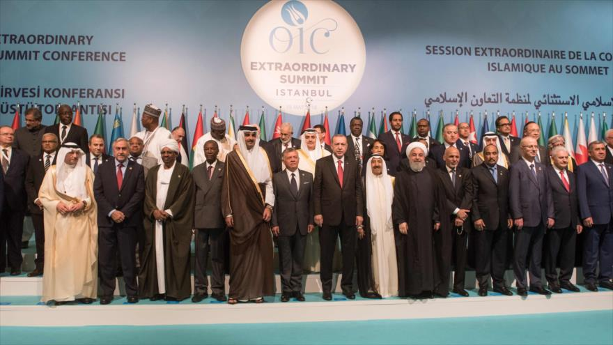 """Países islámicos piden una """"fuerza internacional"""" en apoyo a palestinos"""