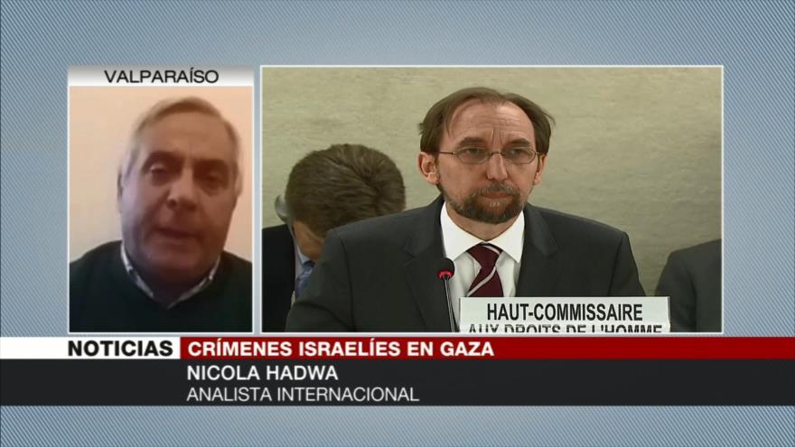 Nicola Hadwa: Israel es el régimen más criminal del mundo