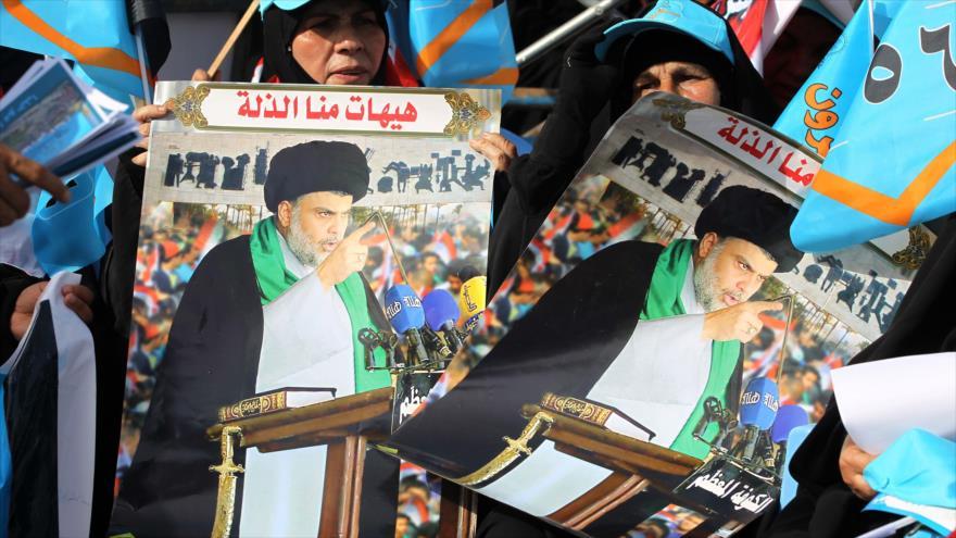 Lista de Muqtada al-Sadr gana comicios parlamentarios en Irak