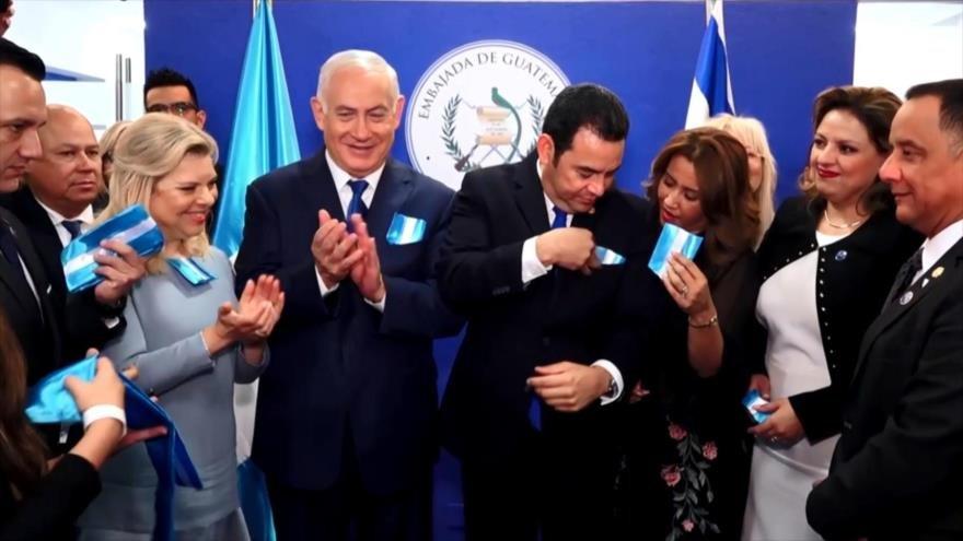 Guatemaltecos tildan de vergonzosa decisión de Morales contra Palestina