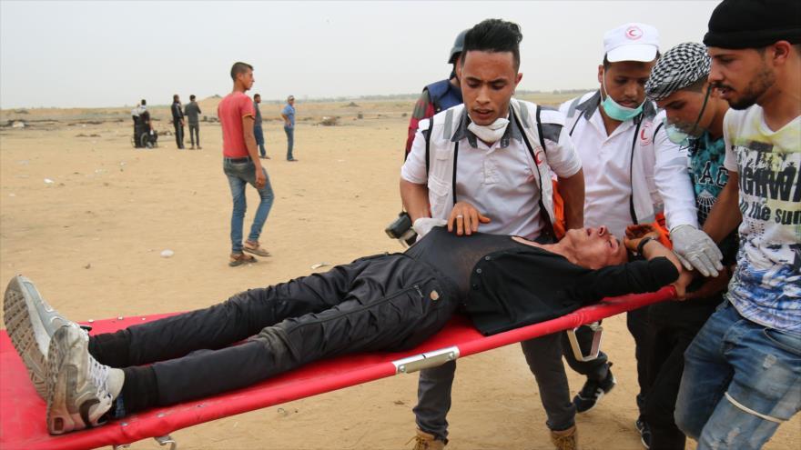 Sucumben a sus heridas 3 palestinos tiroteados por Israel en Gaza