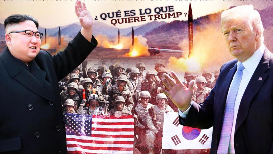 Detrás de la Razón: ¿Kim está mordiendo la trampa de Trump? Corea del Norte y la guerra nuclear