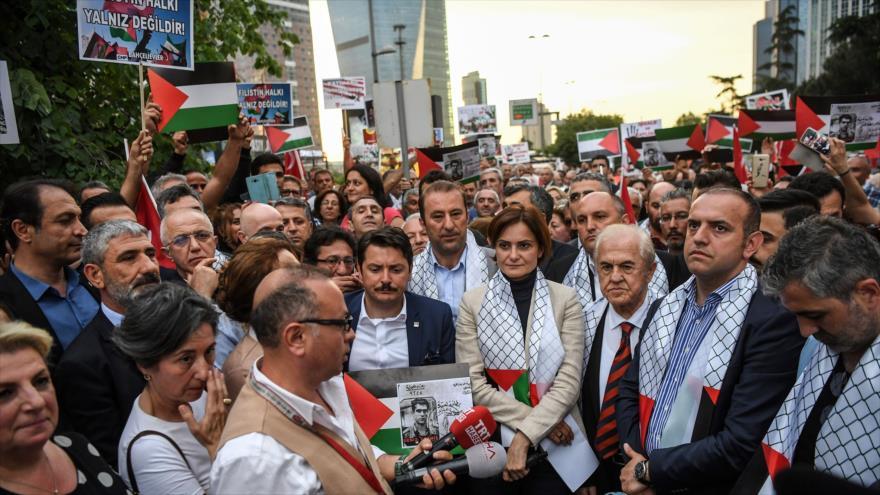 Turquía envía ayuda a palestinos ante fuerte represión israelí