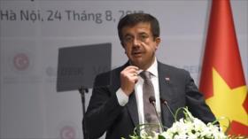 Turquía impone aranceles a importaciones de EEUU