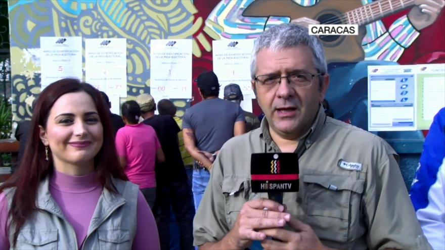 Laila Tajeldine y Eduardo Piñate abordan elecciones venezolanas