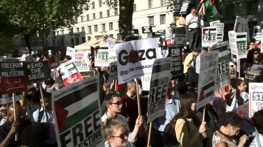 'Reino Unido debe asumir su autoría por masacre de palestinos'