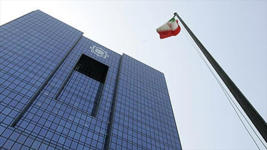 La sede del Banco Central de Irán (CBI, por sus siglas en inglés) en Teherán, la capital persa.