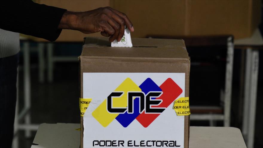 Una urna electoral para las elecciones presidenciales de Venezuela en Caracas, 20 de mayo de 2018.