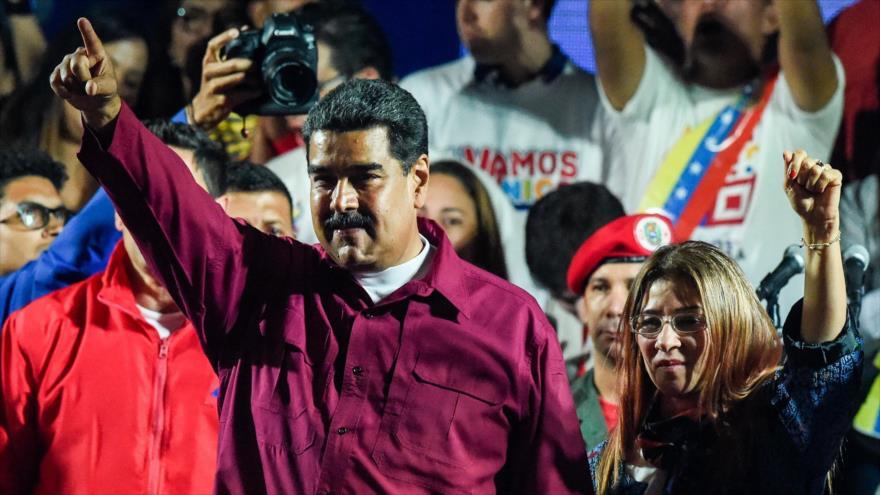 Maduro gana elecciones presidenciales de Venezuela