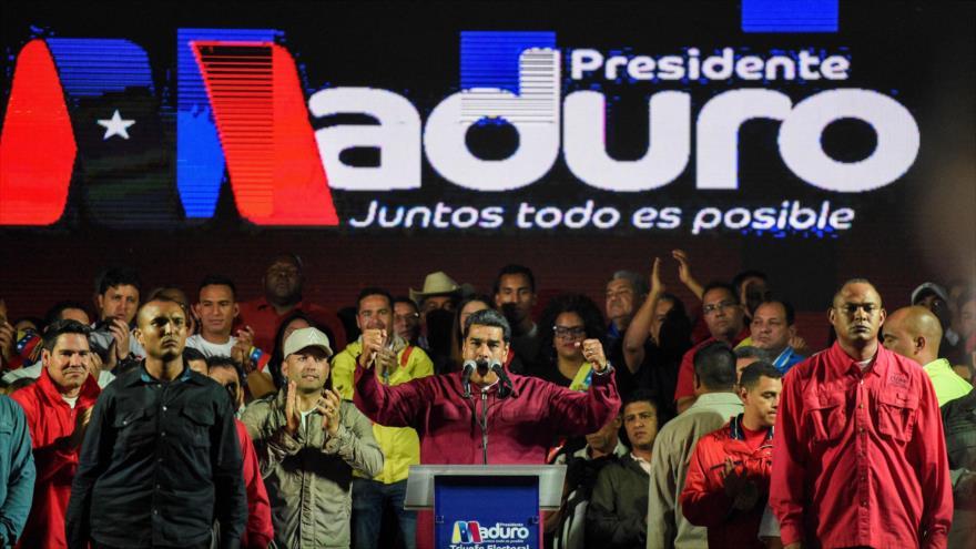 Maduro promete mejorar la economía de Venezuela tras ser reelecto