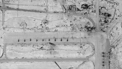 Imágen de satélite: Rusia aumenta sus cazas en base T-4 de Siria