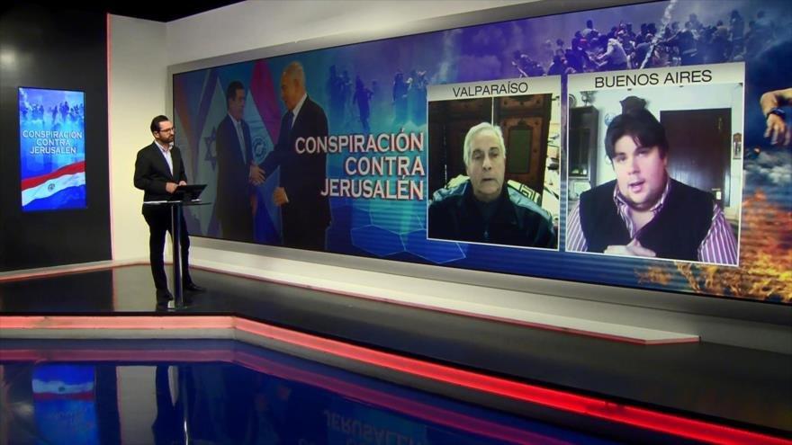 Nicola Hadwa y Nicolás Morás: Embajada de Paraguay en Jerusalén