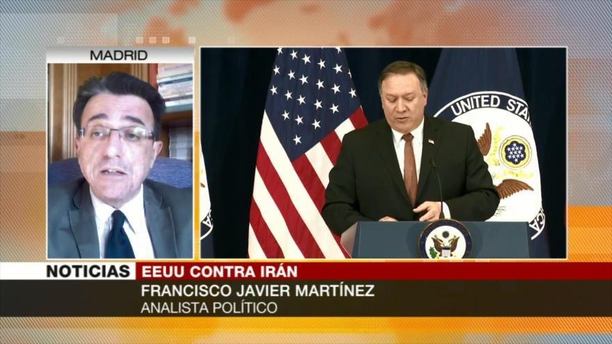 Javier Martínez: Administración Trump, violador del pacto nuclear