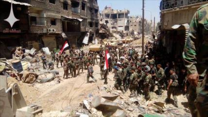 Siria libera estratégico bastión de Daesh en sur de Damasco