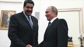 Putin felicita a Maduro por su reelección en Venezuela
