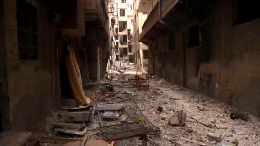 Ejército sirio declara liberación total de Damasco de terrorismo