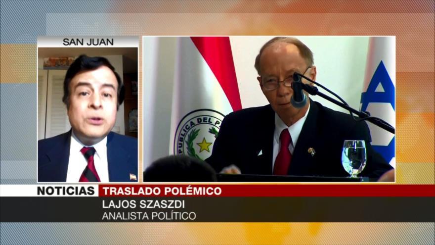 Lajos Szászdi: Políticos en Paraguay apoyan al fascismo sionista