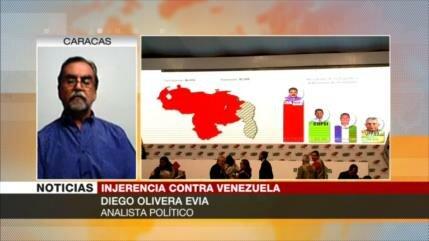 Diego Olivera: EEUU busca intensificar sanciones contra Venezuela