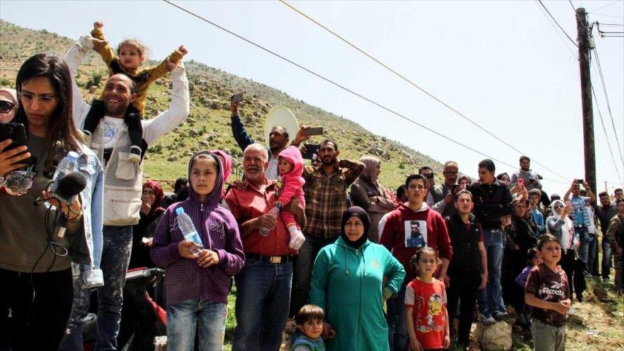 Retorna la calma a Damasco: 66 032 civiles regresan a Guta Oriental