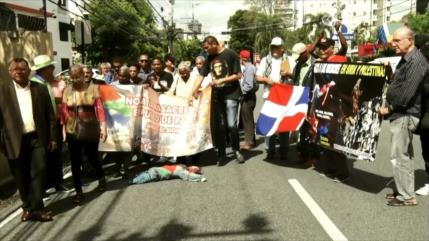 Dominicanos protestan contra Israel por matanza de palestinos