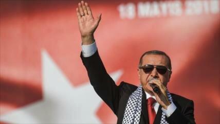 Erdogan asegura que Turquía no se rinde ante el caso de Al-Quds 